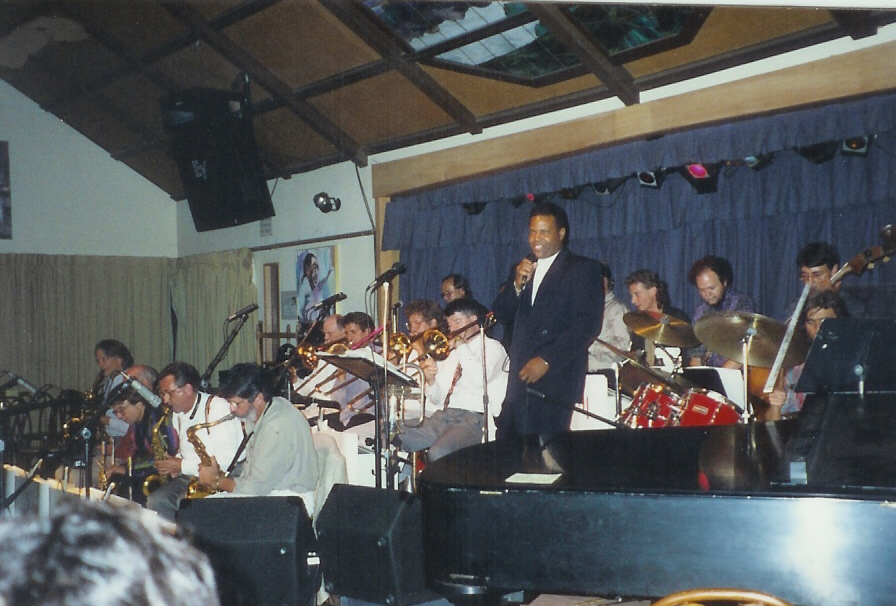 Duane with Capo's Big Band